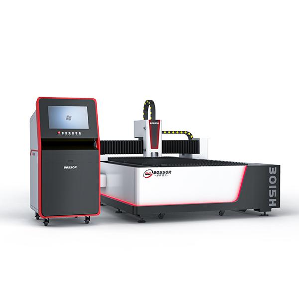 Fiber laser cutting machine open type
