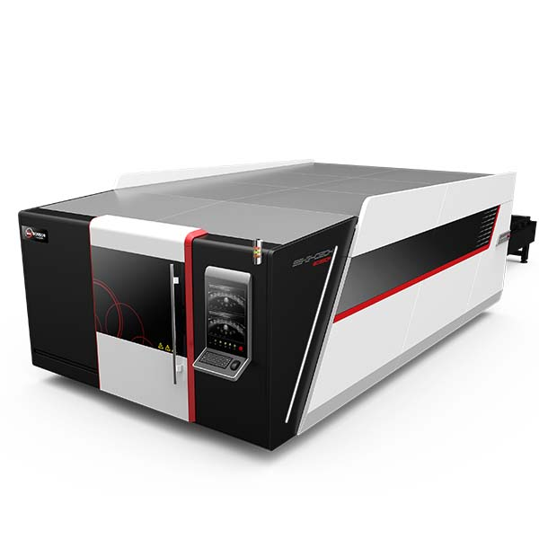 Full Cover Fiber Laser Cutting Machine with Exchange Table