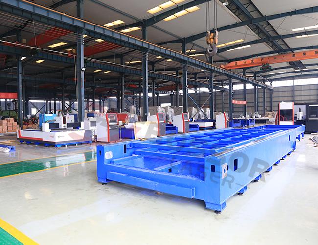 Heavy Duty CNC Fiber Laser Cutter Machine Body