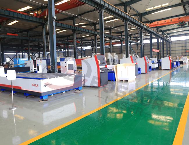 CNC Fiber Laser Cutter Machine Factory