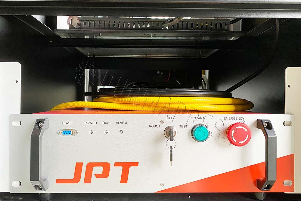 JPT fiber laser source