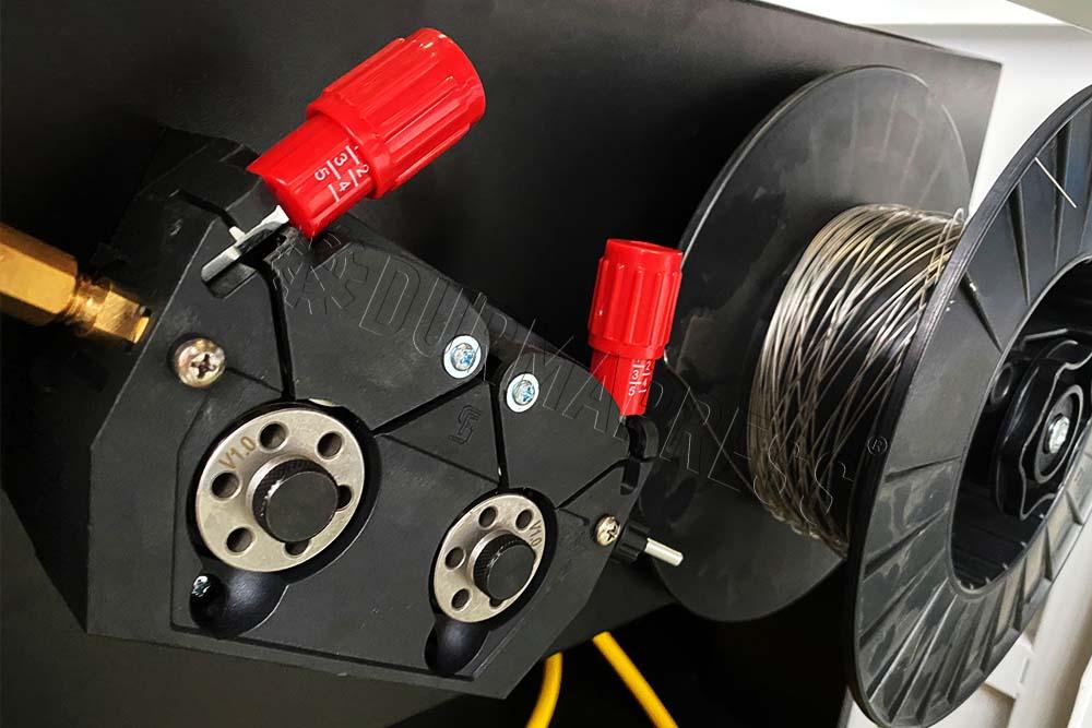 wire feeder for aluminum welding